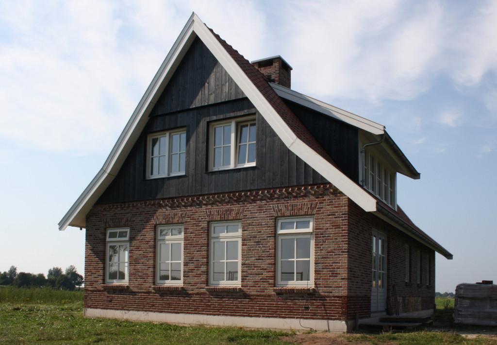 nieuwbouw vrijstaande woningen boerderij of bungalows
